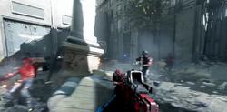 Maschinepistole Red dot scope