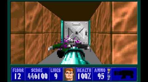 Spear of Destiny (id Software) (1992) Floor 12 HD