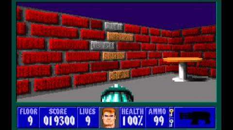 Spear of Destiny (id Software) (1992) Floor 9 HD
