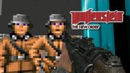 Wolfenstein 3D in Wolfenstein The New Order - Gameplay