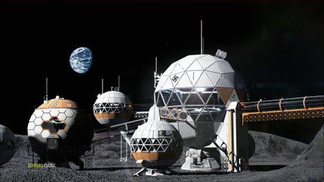 Moon Base One