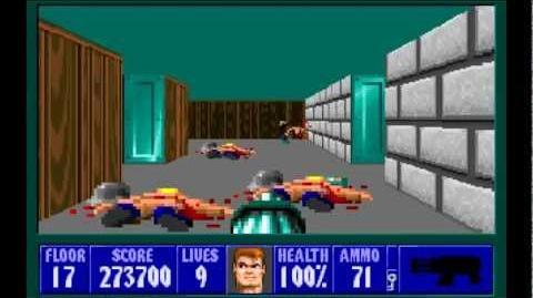 Spear of Destiny (id Software) (1992) Floor 17 HD