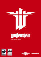 Wolfenstein The New Order Temp PC Packfront North America