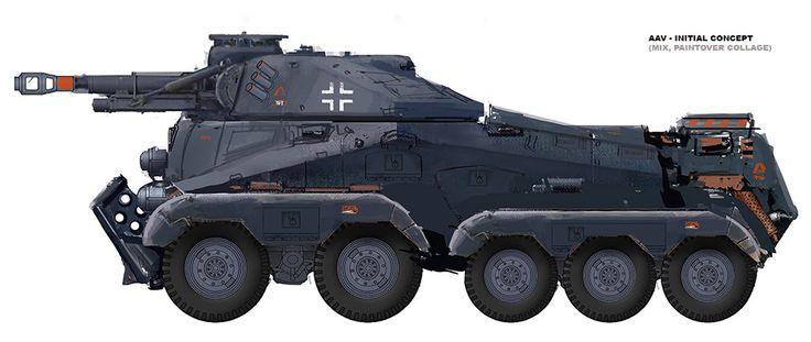 Assault Amphibious Vehicle