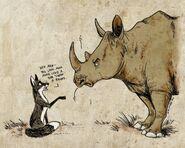 Разговор с носорогом