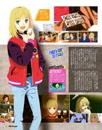 WEP Newtype Magazine Scan (April 2021)