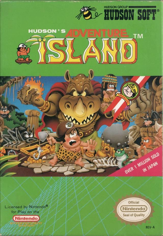 Adventure Island 4 NES cartridge