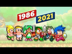 Evolution of Wonder Boy Games (1986-2021) -4K-