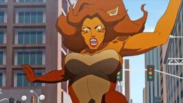 Cheetah Death of Superman animated movie