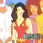 Donna Troy - New Teen Titans Say No to Drugs commercial