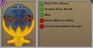 Chaos Vizier