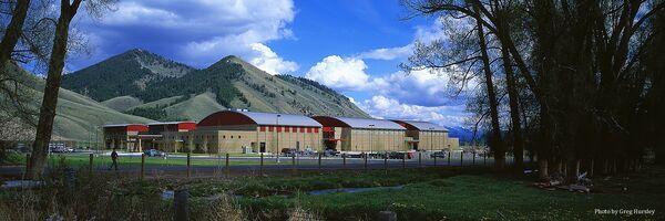 Aufnahme der Jackson Hole High School von ihrer offiziellen Website