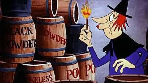 Woody Woodpecker Cartoon Witch Crafty HD