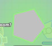Green Beta Pentagon Closeup
