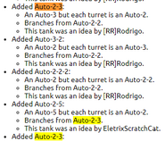 Auto23changelogs
