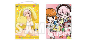 Super Sonico and Wooser Posters.jpg