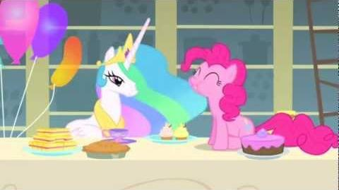 Pinkie Pie's new party game