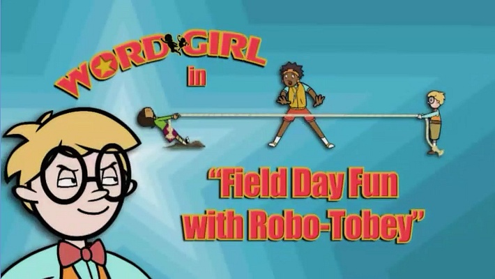 Field Day Fun with Robo-Tobey