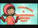 WordGirl Makes a Mistake