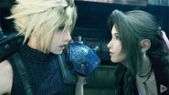 FINAL FANTASY 7 REMAKE All Aerith and Cloud Flirting Scenes