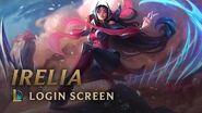 Irelia - Login Screen - League of Legends