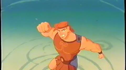 Hercules (1997) Trailer 2 (VHS Capture)
