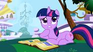 Twilight Sparkle pondering S1E01
