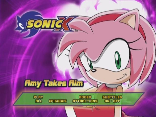 Sonic X: Amy Takes Aim (DVD)
