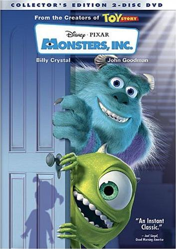 Monsters, Inc. (DVD/VHS)