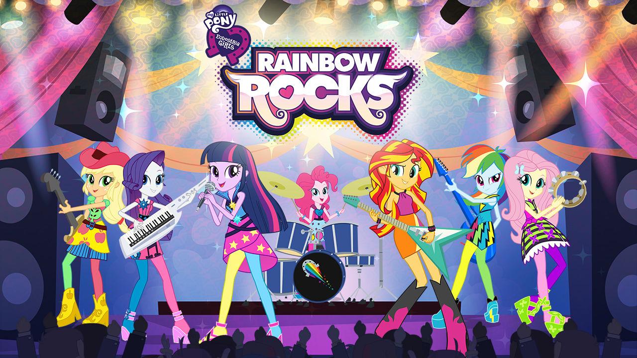 My Little Pony Equestria Girls: Rainbow Rocks (2014 DVD)
