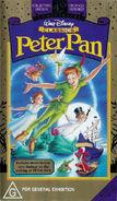 Peter Pan 1998 Australian VHS