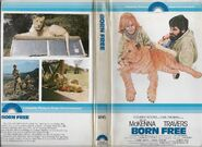 Born Free 1979 VHS Cover