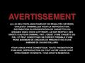 MGM UA Spanish FBI Warning