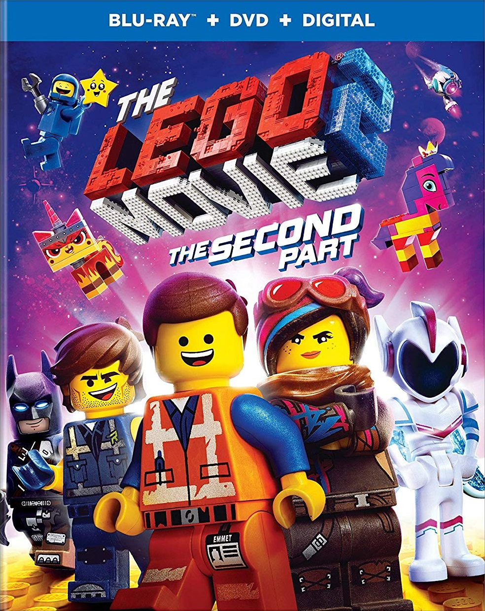 The Lego Movie 2: The Second Part (Blu-ray/DVD)