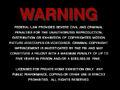 MGM Warning Screen (1990)