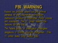 Dark Blue FBI Warning (1996)