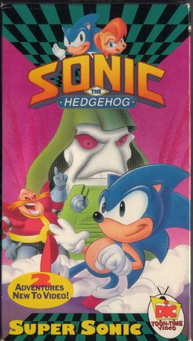 Sonic the Hedgehog (VHS)