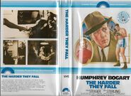 The Harder They Fall 1979 Vhs Cover