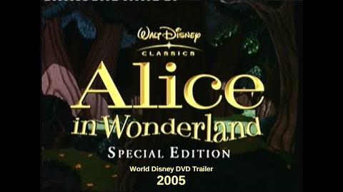 Alice in Wonderland Special Edition International DVD Trailer