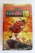 Lionking1½VHS