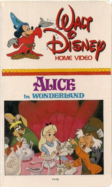 Alice in Wonderland (1981-1983 VHS)