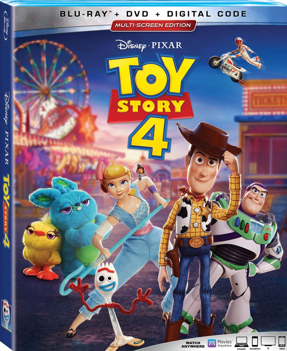 Toy Story 4 (Blu-ray/DVD)
