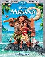 Moana bluray