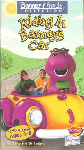 Riding in Barney's Car (VHS)