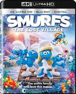 Smurfs The Lost Village 4K