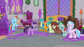 Twilight tells Young Six to clean up the mess S8E15