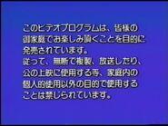 Disney Japanese Warning Screen (1991)
