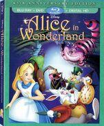 Alice in Wonderland 2016 Blu-ray