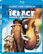 Ice Age Dawn of the Dinosaurs 2015 Blu-ray