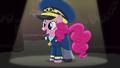 Pinkie wearing General Flash's uniform S4E21